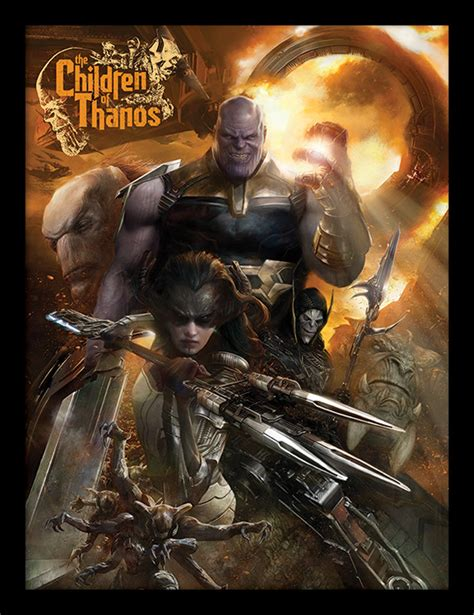 Plakat Infinity War by Infinity War Children Of Thanos R 225 Movan 253 Obraz