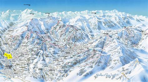 Ski St Gervais big resort skiing from a traditional French town