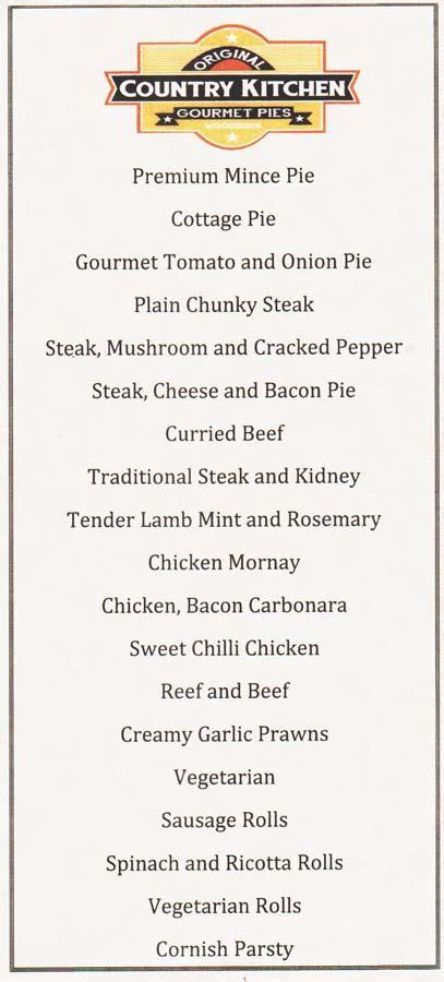 Country Kitchen Photos - menu byron country kitchen local menus byron bay and surroundings