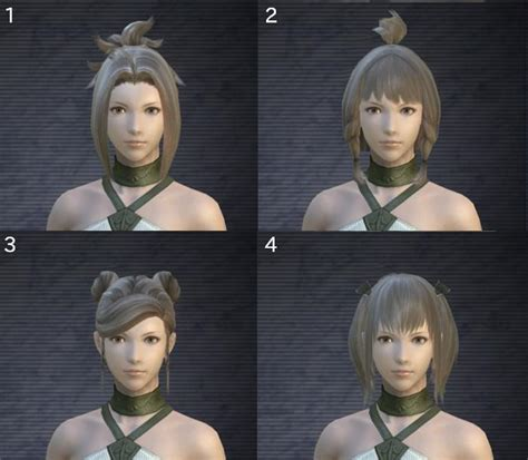 ffxiv male hairstyles pictures dear square enix can you remove the race restrictions on