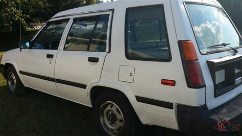 Toyota Tercel For Sale Uk Toyota Tercel Dlx Wagon 4 Door
