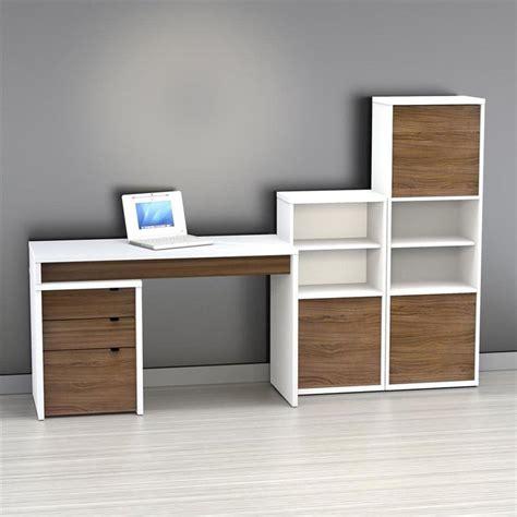 computer desk with filing cabinet nexera liber t computer desk with bookcase and filing