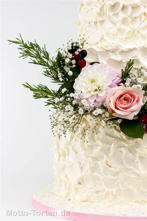 Hochzeitstorte Vintage Blumen by Vintage Hochzeitstorte Ohne Fondant Motto Torten De