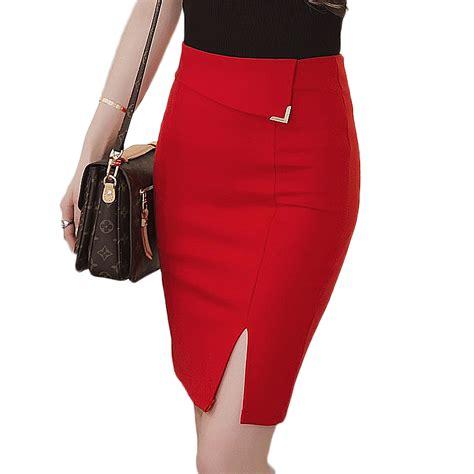 get cheap plus size pencil skirt aliexpress