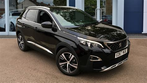 peugeot 3008 2017 black peugeot romford robins and day