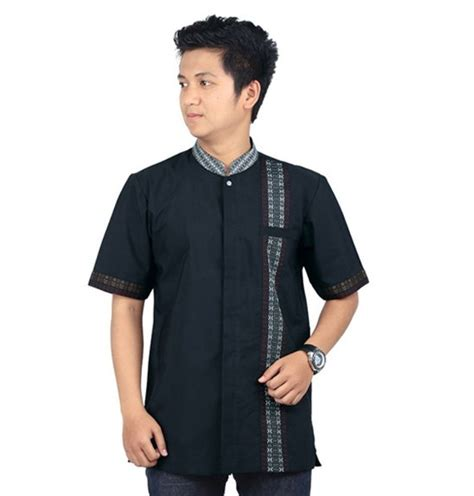 Koko Terbaru 05 15 model baju koko untuk lebaran 2018 fashion muslim modern
