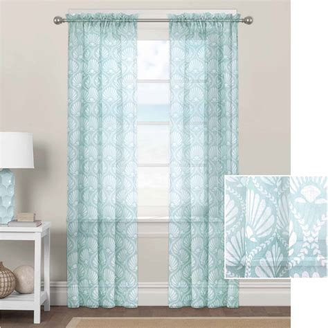Aqua Sheer Curtains Blue Curtains Canada Curtain Menzilperde Net