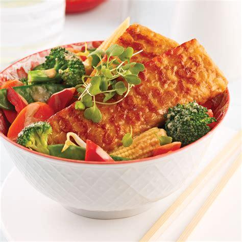 cuisiner tempeh tempeh asiatique aux l 233 gumes recettes cuisine et