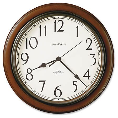Howard Miller Talon Wall Clock Analog Quartz By Office