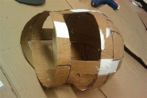 How To Make A Paper Football Helmet Step By Step - power rangers helmet