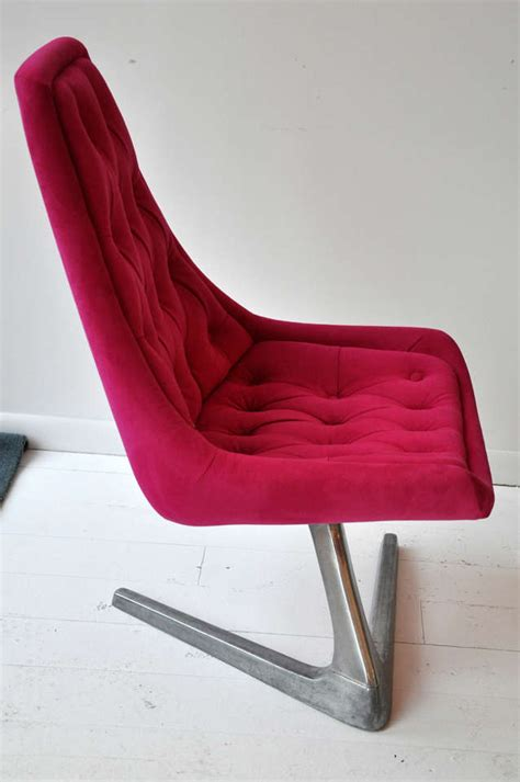 Pink Swivel Chair At 1stdibs Pink Swivel Chair