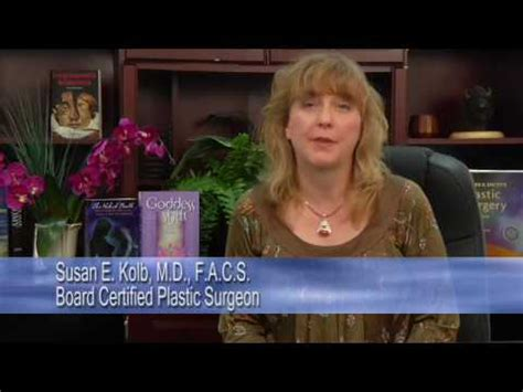 Dr Susan Kolb Detox by Dr Susan Kolb Discusses Silicone Breast Implants How
