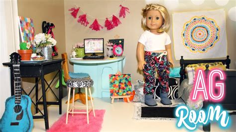 American girl library room crafts ideas