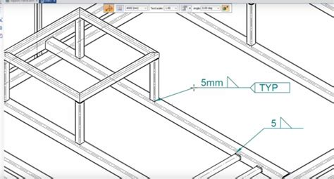 sketch pattern in solid edge frames and weldments in solid edge