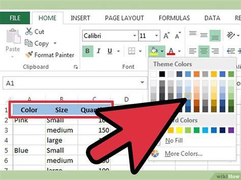 cara membuat header di excel 2003 cara menambahkan baris header dalam excel wikihow
