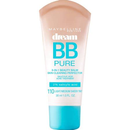 Maybelline Bb Cushion Warna Light maybelline bb 8 in 1 skin clearing perfector walmart