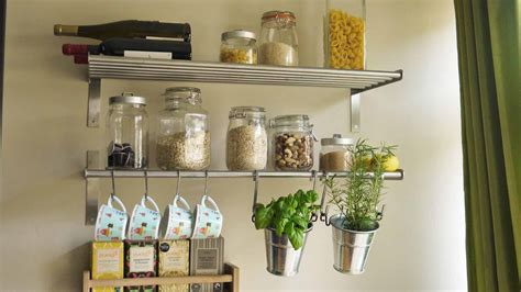kitchen wall shelves 7 smart ways to save a ton of space in your small kitchen
