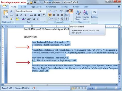 page layout software definition microsoft word 2007 home tab