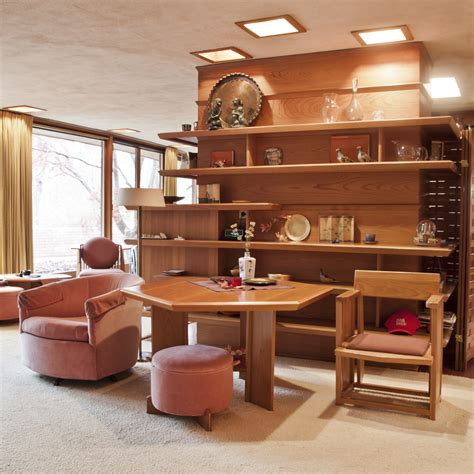 frank lloyd wright house interiors frank lloyd wright s only handicap accessible home opens