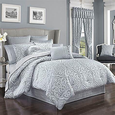 j queen comforter set j queen new york harrison comforter set in chrome bed