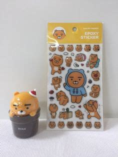 Kakao Friends Pyjamas kakao friends sticker 2 kinds sticky memo pads