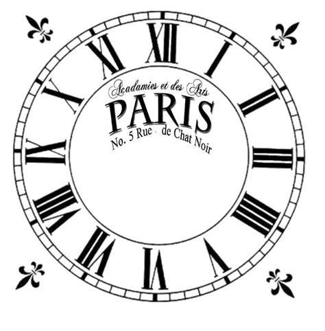 printable paper clock dials 225 best images about clock illustration on pinterest