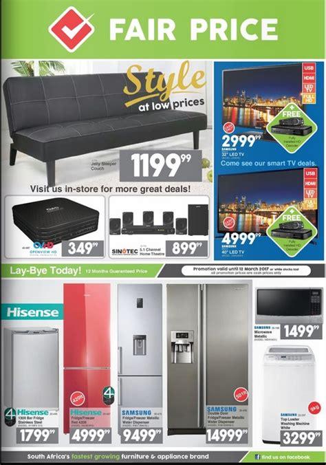 fair price furniture catalogue valid   april