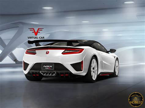 honda acura what about this new acura honda nsx type r render