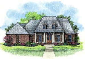 springfield country french home plans louisiana house plans