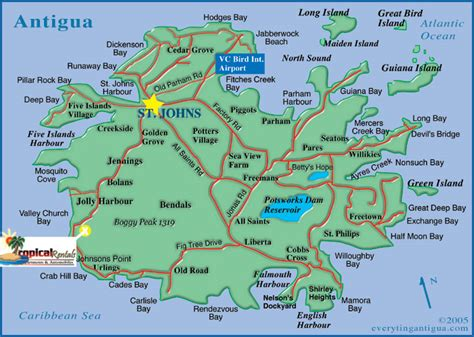 printable road map of antigua travel tips for your visit to antigua