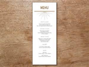 deco menu template menu template deco