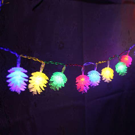 philips pine cone string lights kcasa 2m 20 led pine cone string lights led fairy lights
