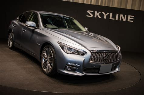 gallery infiniti q50 launched as skyline in japan image