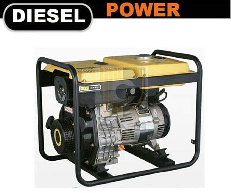 2kw diesle portable generator tp2500dg e top power