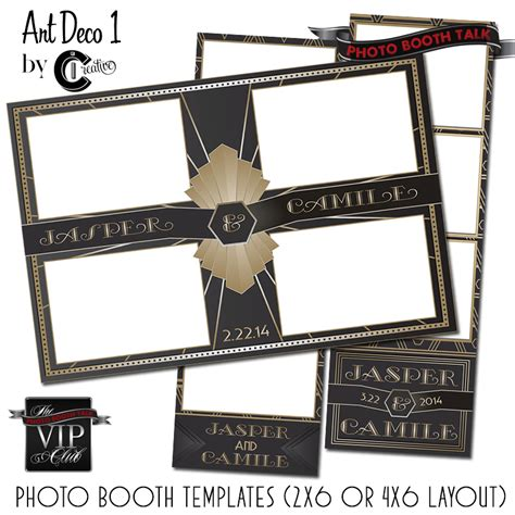 photo booth template design deco 1 photo booth talk