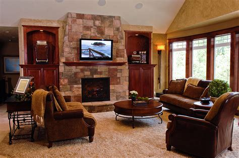 Family Room Decor Gustin Family Room Carisa Interior Design