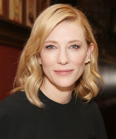 Get The Look Cate Blanchetts Feathered Tresses by Cate Blanchett Hair Color 2017 Hair Color Guide