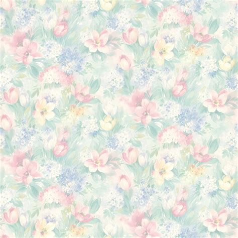 pastel flower pattern wallpaper 414 75868 pastel floral motif georgia brewster wallpaper