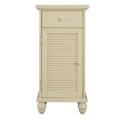 Bathroom Linen Storage Home Decorators Collection Cottage 17 In W X 35 In H Bathroom Linen Storage Floor Cabinet In