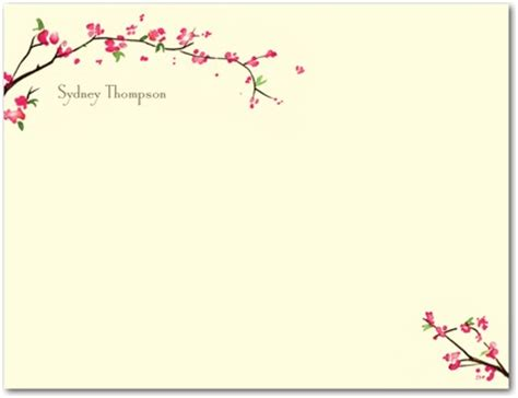 printable stationery thank you tiny prints 3 free stationery sles coupons and deals