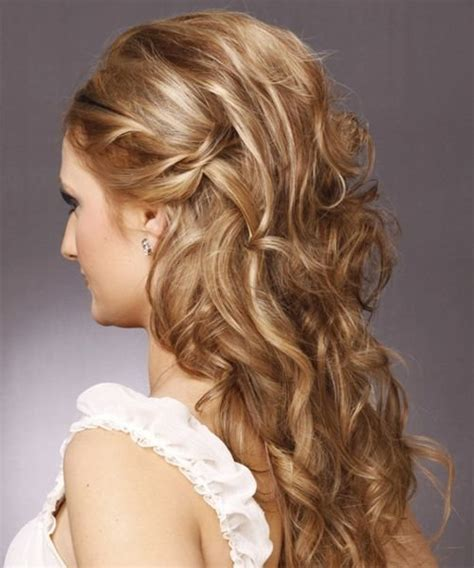 hairstyles curly and down 39 half up half down hairstyles to make you look perfect
