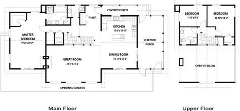 Coastal Floor Plans by House Plans Coastal Linwood Custom Homes