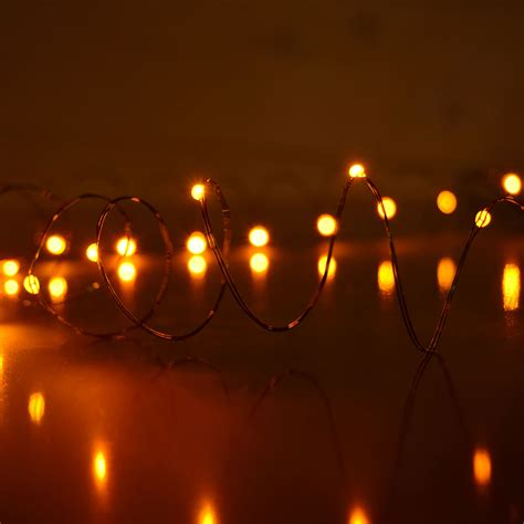 ultra thin led light strand led battery operated ultra thin wire string light strand