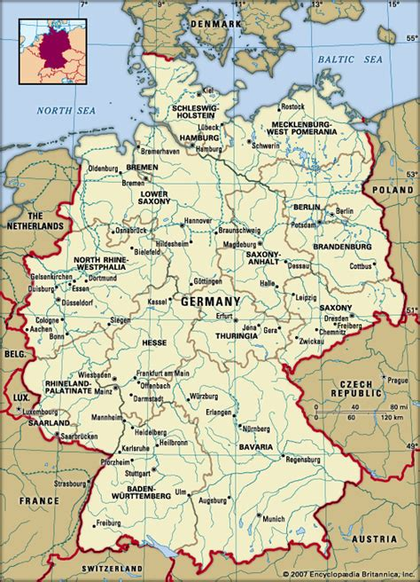 germanz map germany history geography britannica