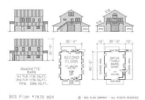barn building plans neak pole barn with apartment floor plans