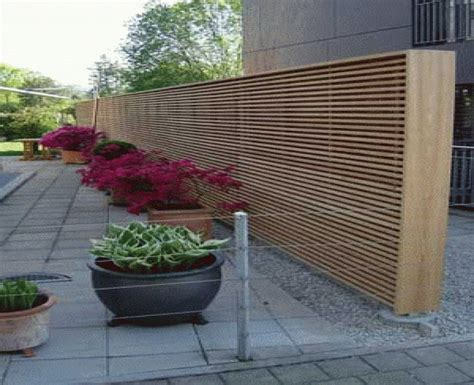 Moderne Sichtschutzzäune by Moderne Garten Sichtschutz Ocaccept