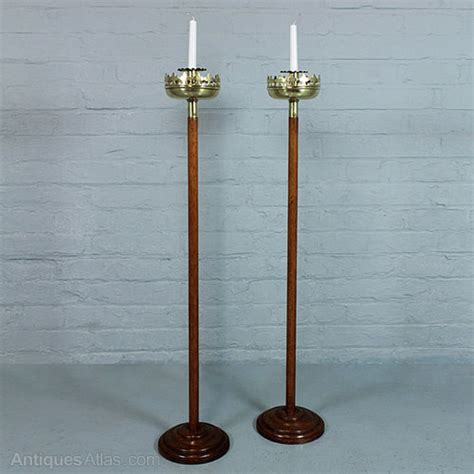 antiques atlas floor standing candle holders