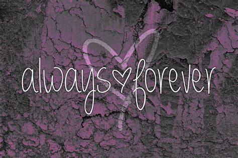 forever always always forever