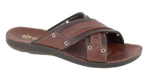 jesus sandals mens mens leather look mule style jesus sandals mules brown