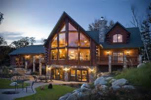Log Cabin Luxury Homes by Sashco Log Home Products And Golden Eagle Log Homes Expand